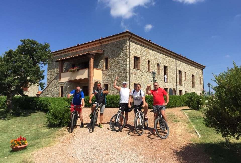 Bicycle tours with our E-Bikes