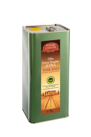 Il Poggio alla Pieve - Latta Olio Extravergine IGP Podere Casalini